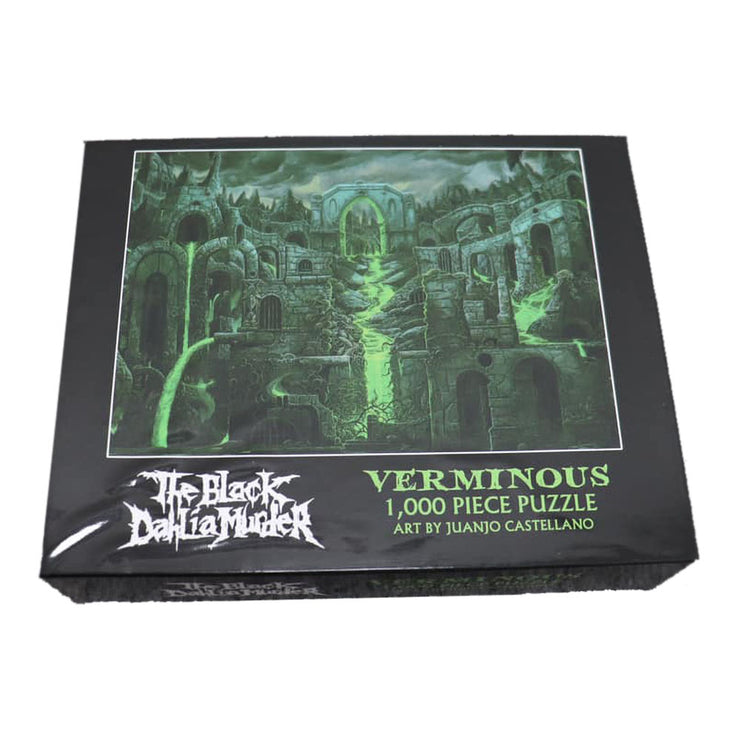 The Black Dahlia Murder - Verminous puzzle *DAMAGED*
