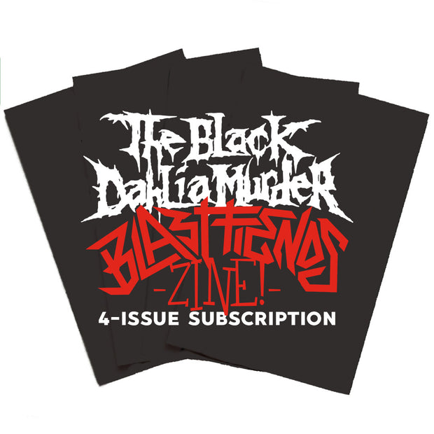 The Black Dahlia Murder - Blast Fiendzine subscription