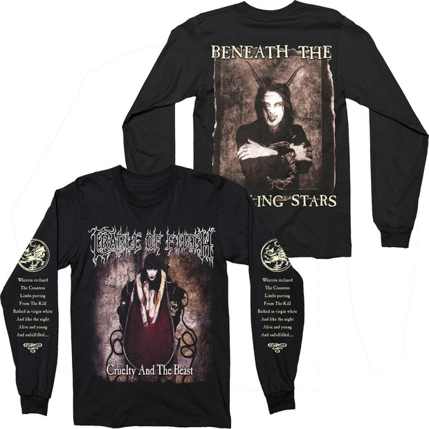 Cradle Of Filth - Cruelty And The Beast long sleeve