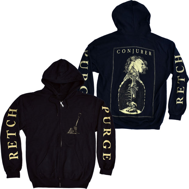 Conjurer - Retch zip-up hoodie