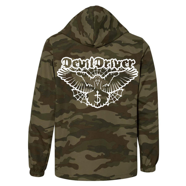 DevilDriver - Bird Camo Windbreaker Jacket