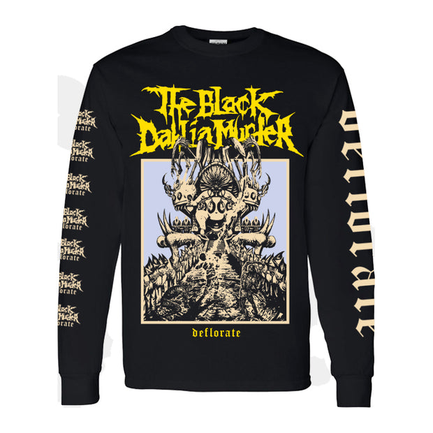 The Black Dahlia Murder - Deflorate 10 Year 2.0 long sleeve