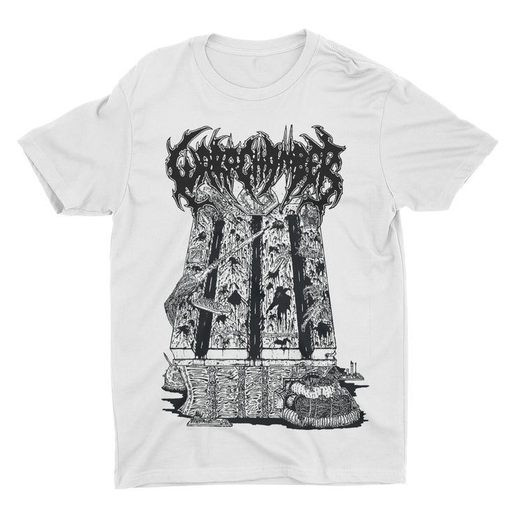 Warp Chamber - Implements Of Excruciation White t-shirt
