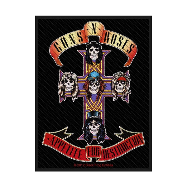 Guns N' Roses - Appetite For Destruction patch