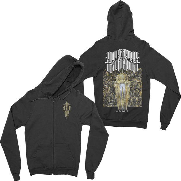 Imperial Triumphant - Alphaville zip-up hoodie