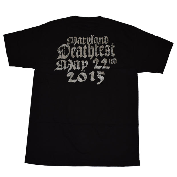 Lock Up - Necropolis Transparent MDF 2015 t-shirt