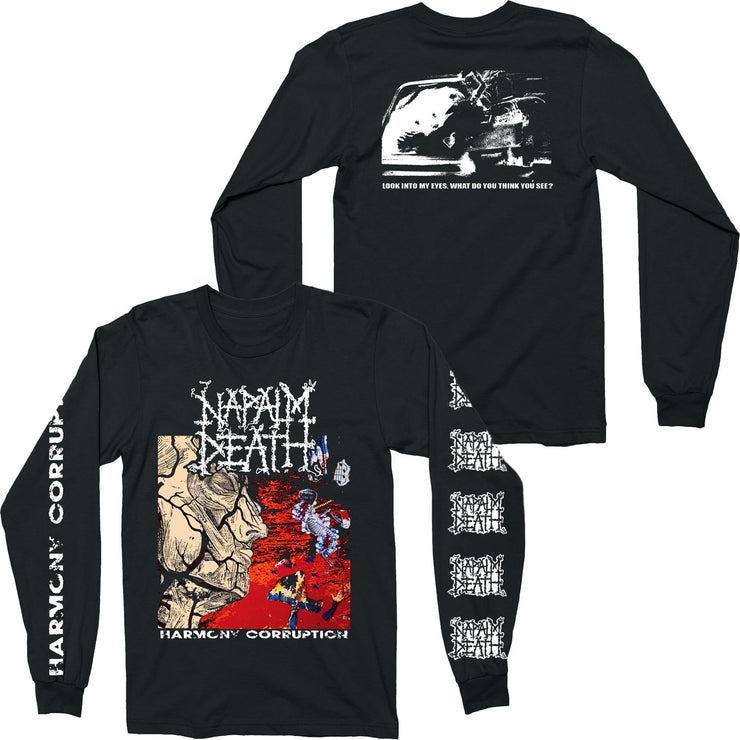 Napalm Death - Harmony Corruption long sleeve