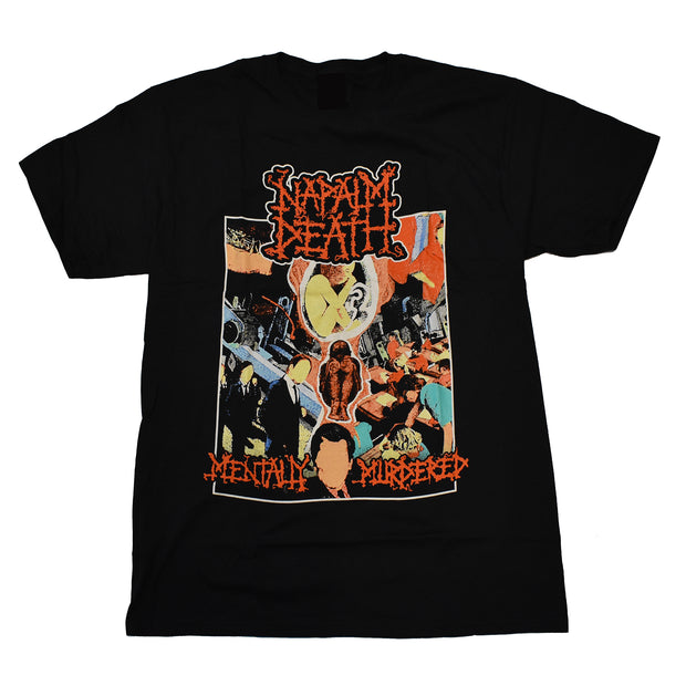 Napalm Death - Mentally Murdered t-shirt