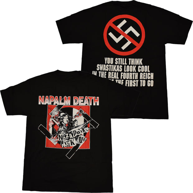 Napalm Death - Nazi Punks Fuck Off t-shirt
