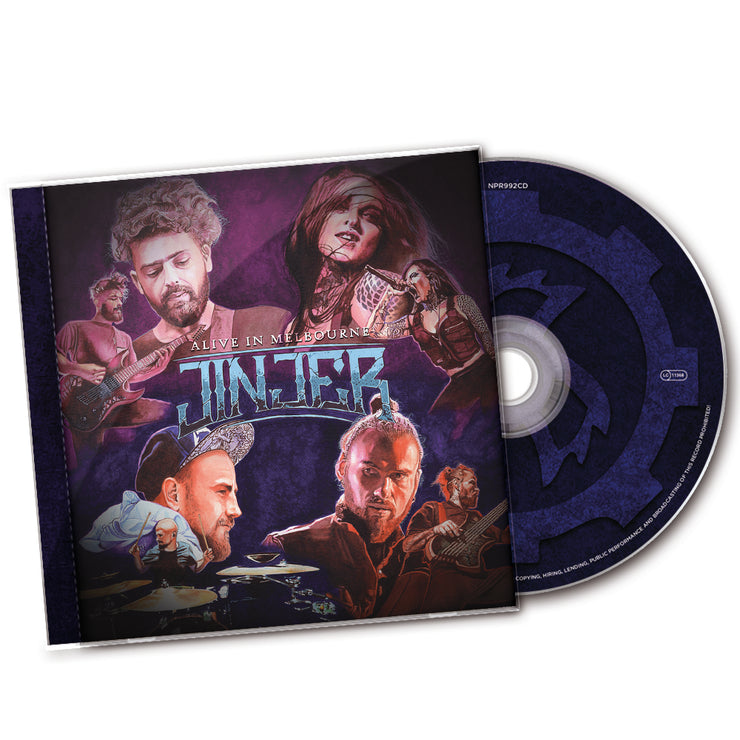 Jinjer - Alive In Melbourne CD *PRE-ORDER*