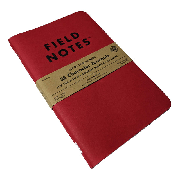 Field Notes - 5E Character Journal (2-Pack)