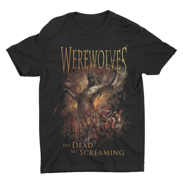 Werewolves - The Dead Are Screaming t-shirt