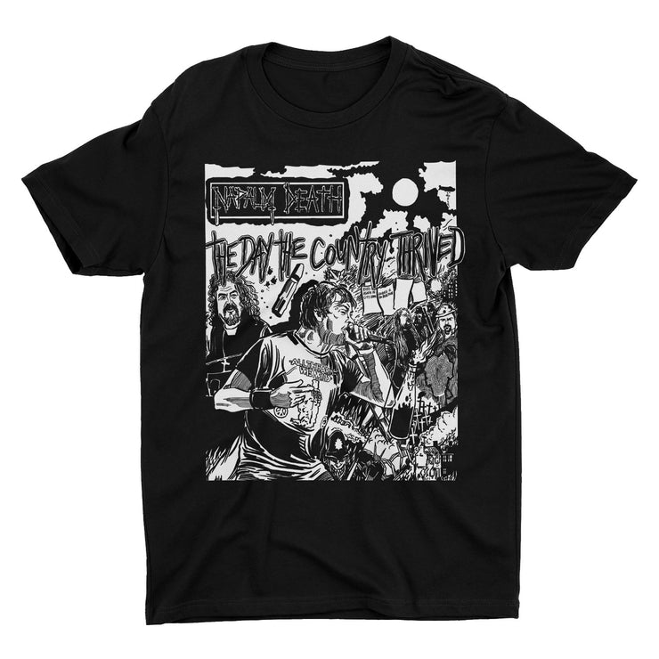 Napalm Death - The Day The Country Thrived t-shirt
