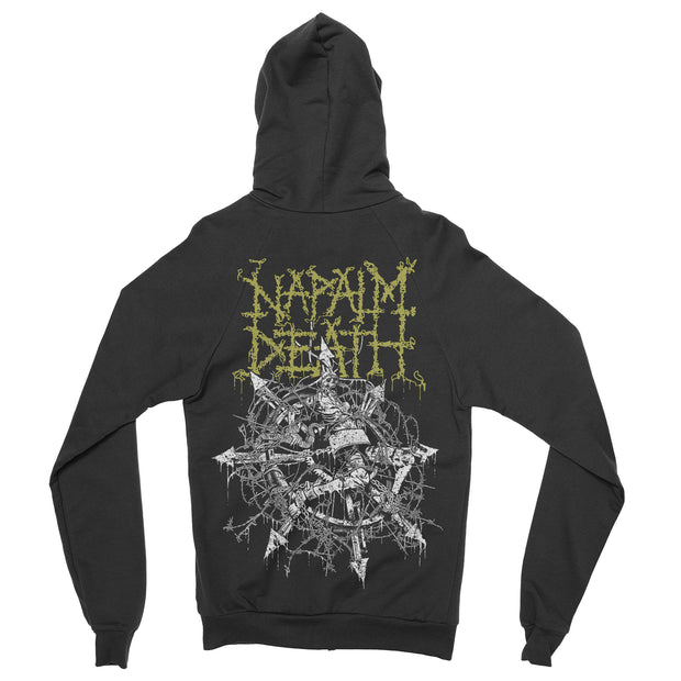 Napalm Death - Chaos zip-up hoodie