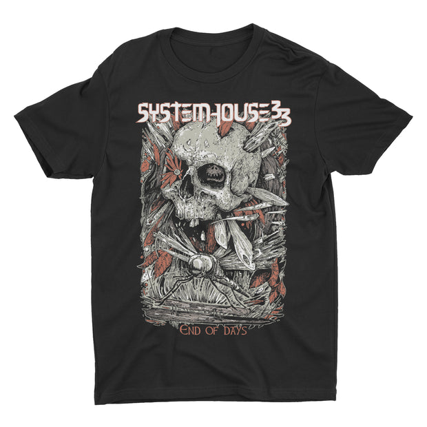 SystemHouse33 - End Of Days t-shirt