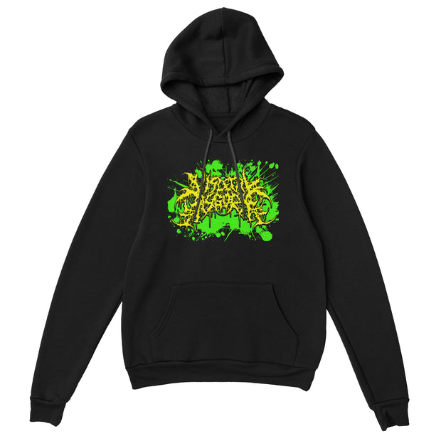 Visceral Disgorge - Neon Logo pullover hoodie