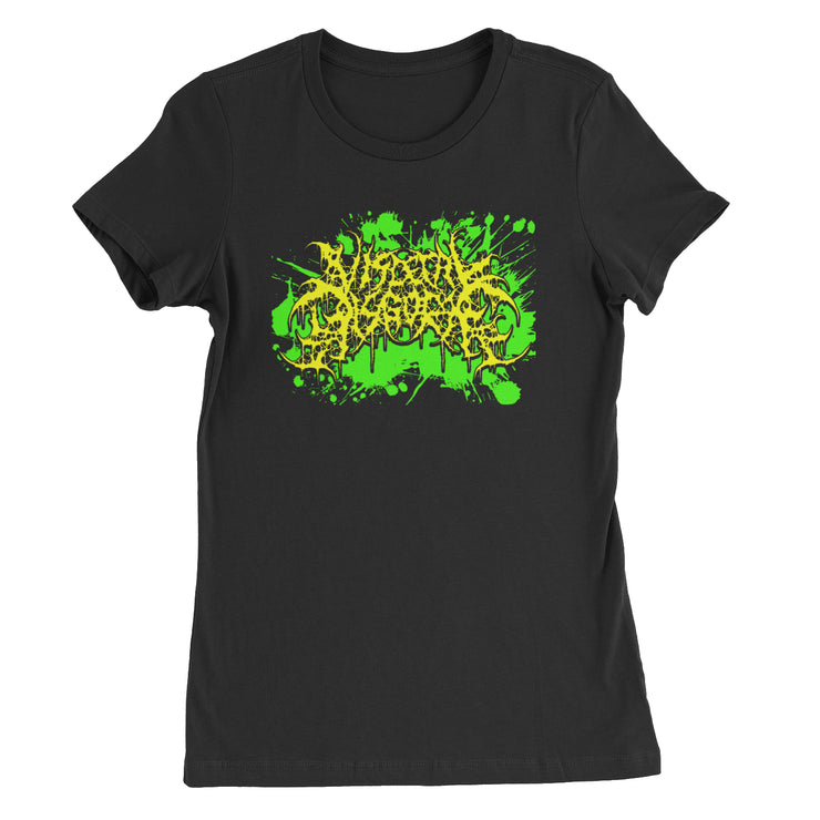 Visceral Disgorge - Neon Logo Ladies t-shirt