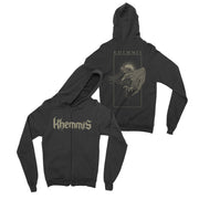 Khemmis - Blackened Wings zip-up hoodie