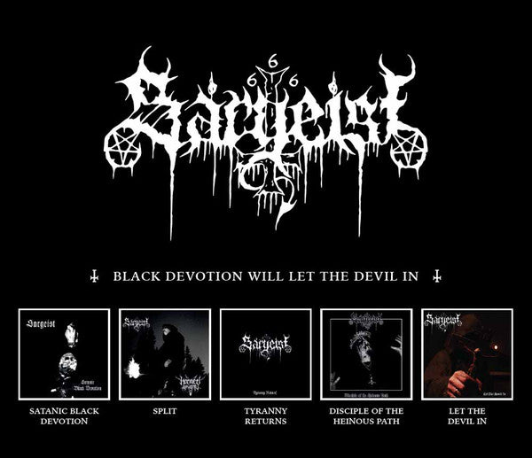 Sargeist - Black Devotion Will Let The Devil In 5xCD