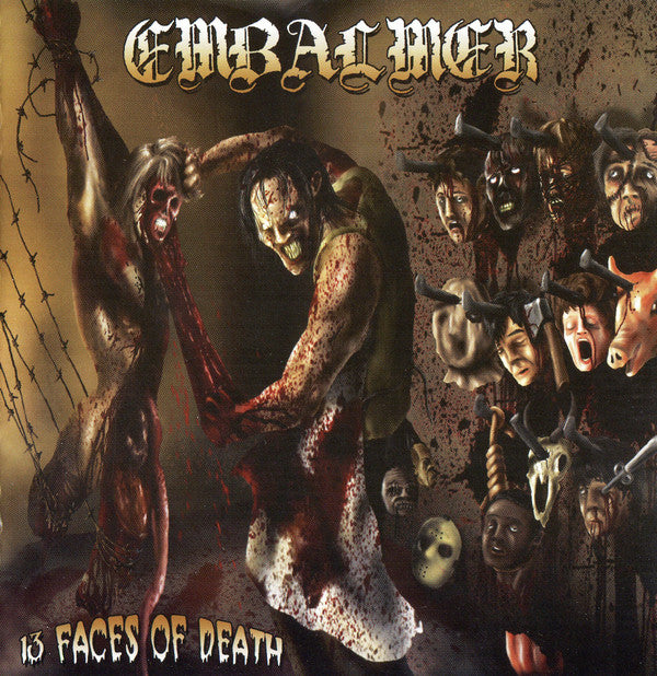 Embalmer - 13 Faces Of Death CD
