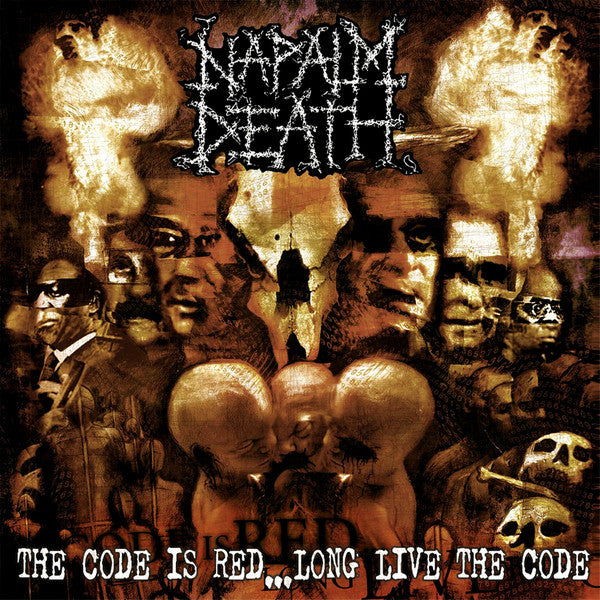 Napalm Death - The Code Is Red... Long Live The Code 12""