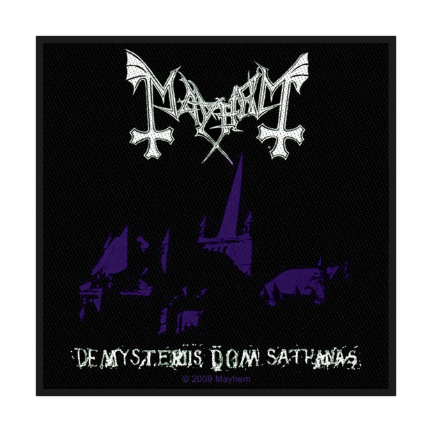 Mayhem - De Mysteriis Dom Sathanas patch