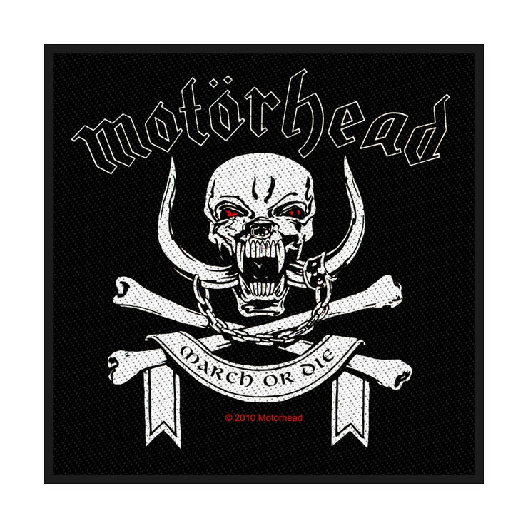 Motorhead - March Or Die patch