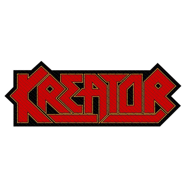 Kreator - Logo Cut-Out patch