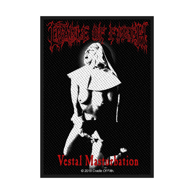 Cradle Of Filth - Vestal Masturbation patch