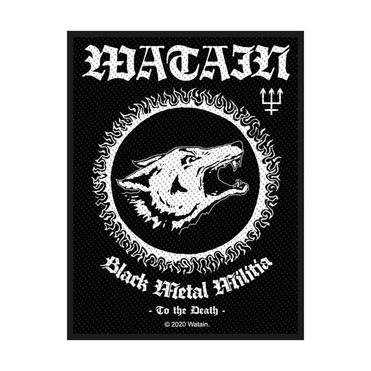 Watain - Black Metal Militia patch