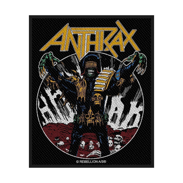 Anthrax - Judge Death patch
