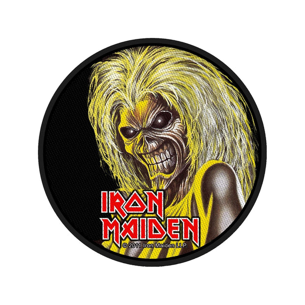 Iron Maiden - Killers Face patch