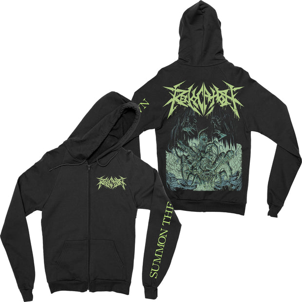 Revocation - Summon The Spawn zip-up hoodie
