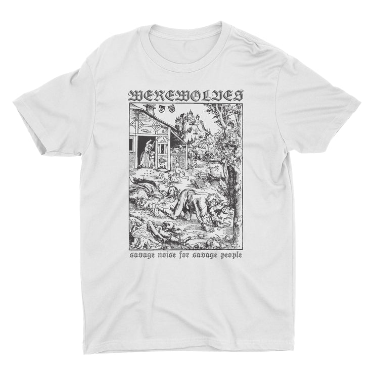 Werewolves - Savage Noise t-shirt