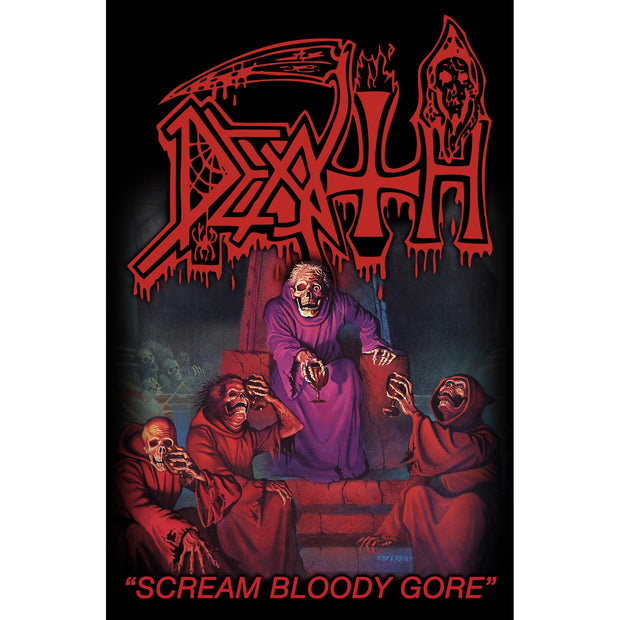 Death - Scream Bloody Gore flag