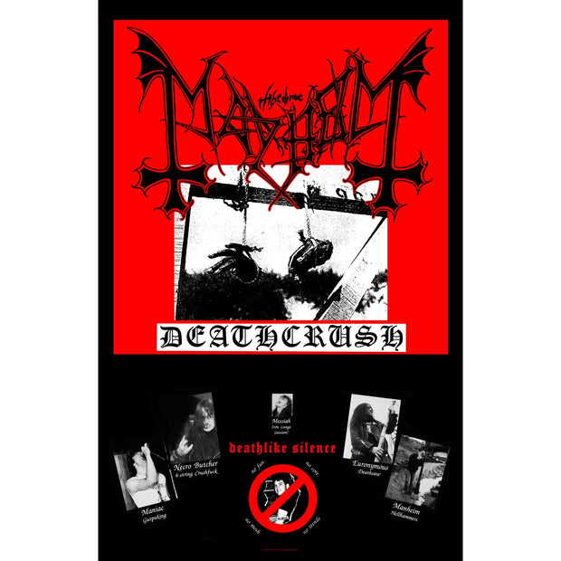 Mayhem - Deathcrush flag