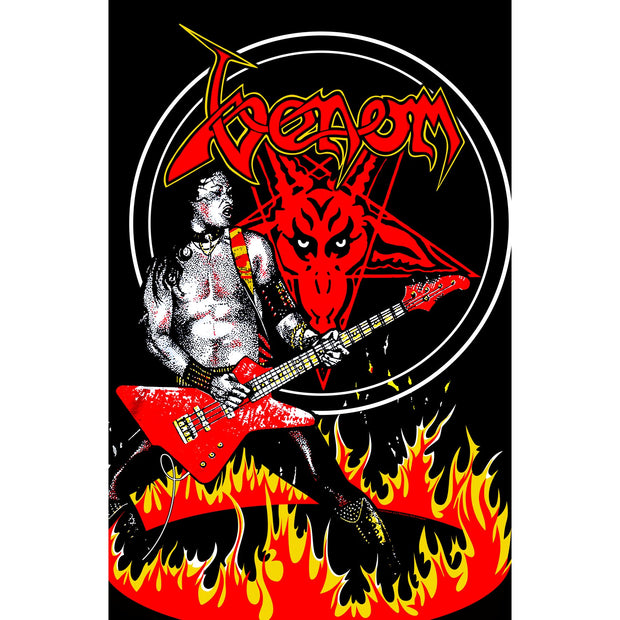 Venom - Cronos In Flames flag