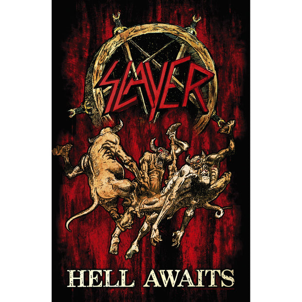 Slayer - Hell Awaits flag