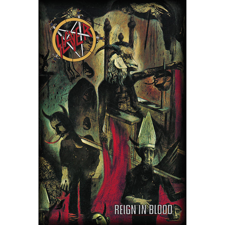 Slayer - Reign In Blood flag