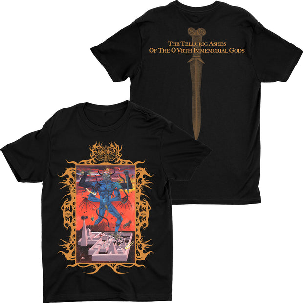 Esoctrilihum - The Telluric Ashes of the O Vrth Immemorial Gods t-shirt