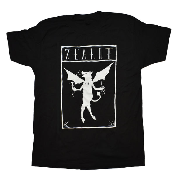 Zealot R.I.P. - Winged Wolf t-shirt
