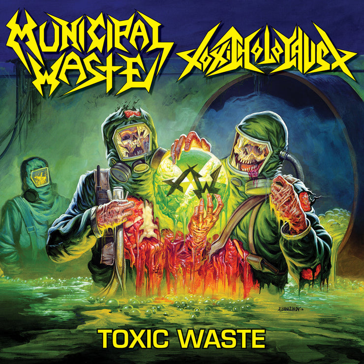 Municipal Waste / Toxic Holocaust - Toxic Waste Split 12""