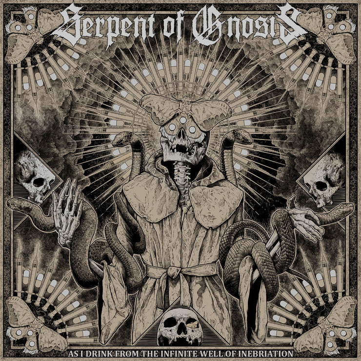 Serpent Of Gnosis - As I Drink From The Infinite Well Of Inebriation 12""