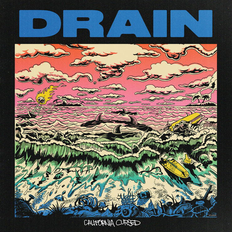 Drain - California Cursed 12""