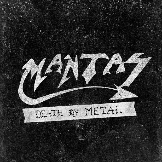 Mantas - Death By Metal 12""