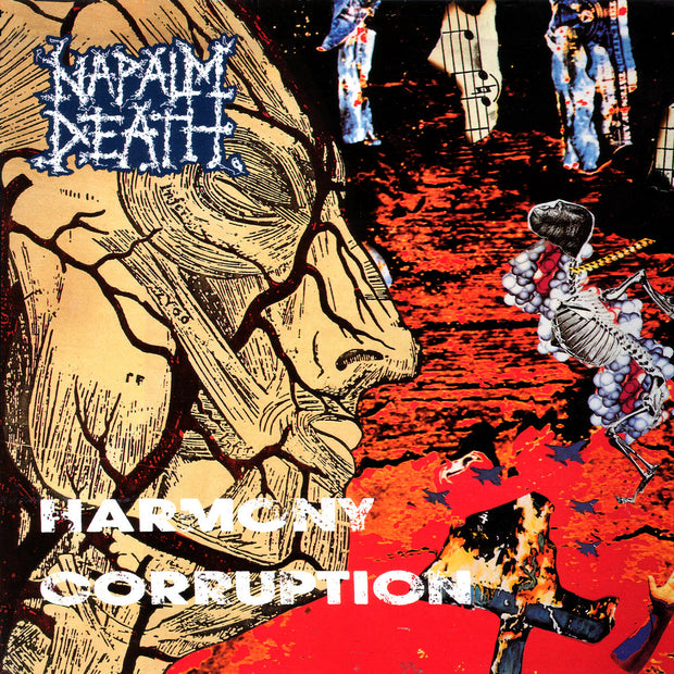 Napalm Death - Harmony Corruption 12""