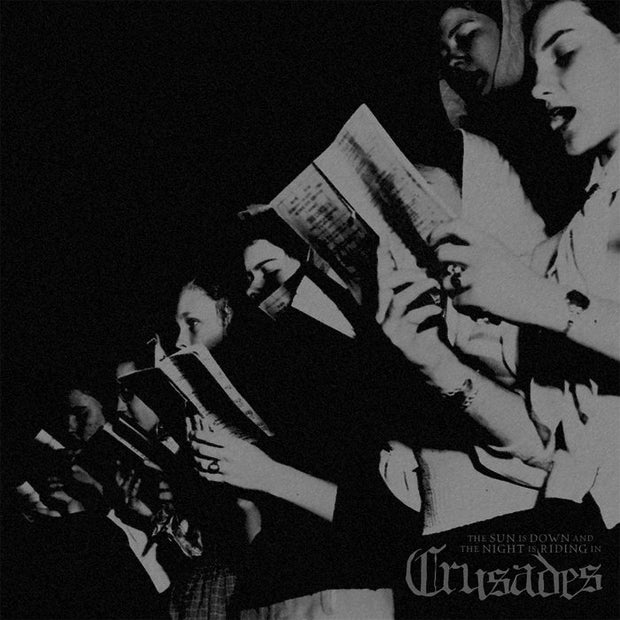 Crusades - The Sun Is Down And The Night Is Riding In 12""