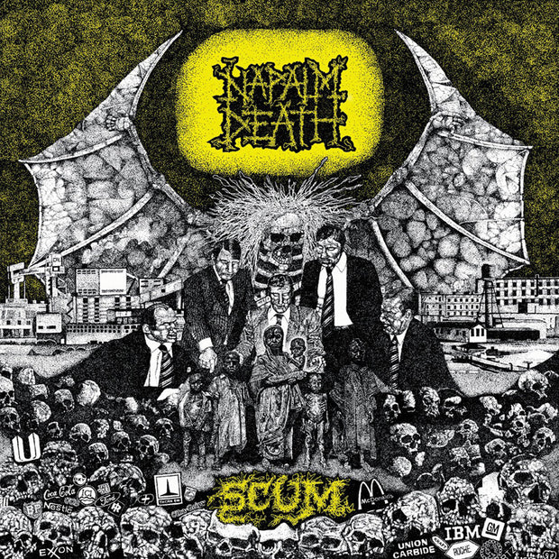 Napalm Death - Scum 12""