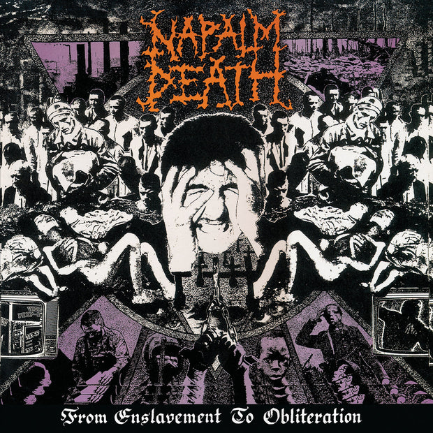 Napalm Death - From Enslavement To Obliteration 12""