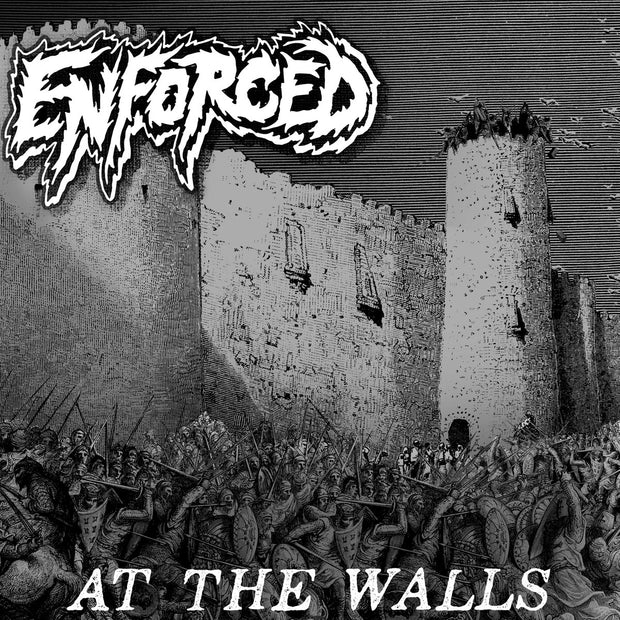 Enforced - At The Walls 12""